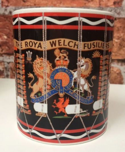 The Royal Welch Fusiliers Drum Mug